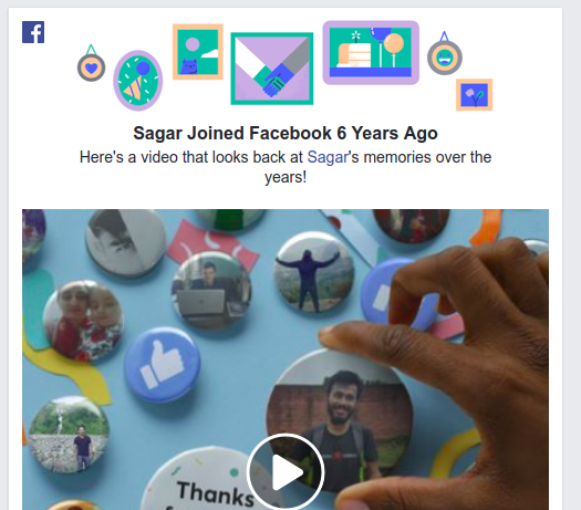 Share memory in Facebook Facebook memories