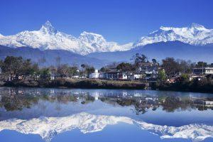 Fewa Lake, Pokhara, Nepal