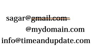 Free Email provider for Custom Domain - Costom Domain