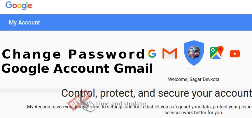 changing google password