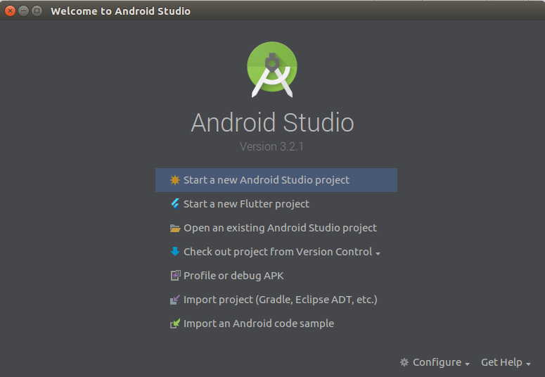 Create an Android app from Your Website Starting a project