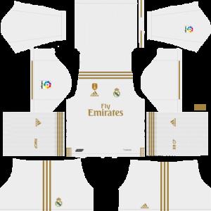 super popular 2b076 3c6a6 Real Madrid 2019/20 Kit - Dream League Soccer 2020