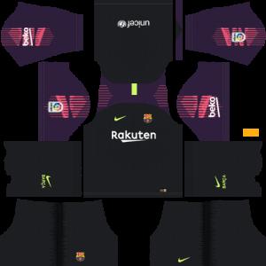 goalkeeper away kit