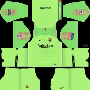 goalkeeper home kit