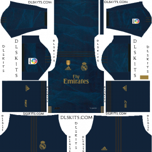 super popular 0a52b 8c7a3 Real Madrid 2019/20 Kit - Dream League Soccer 2020
