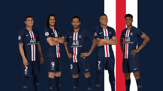 PSG Soccer Time Update 2019/20 and – League 2020 Dream Kit -